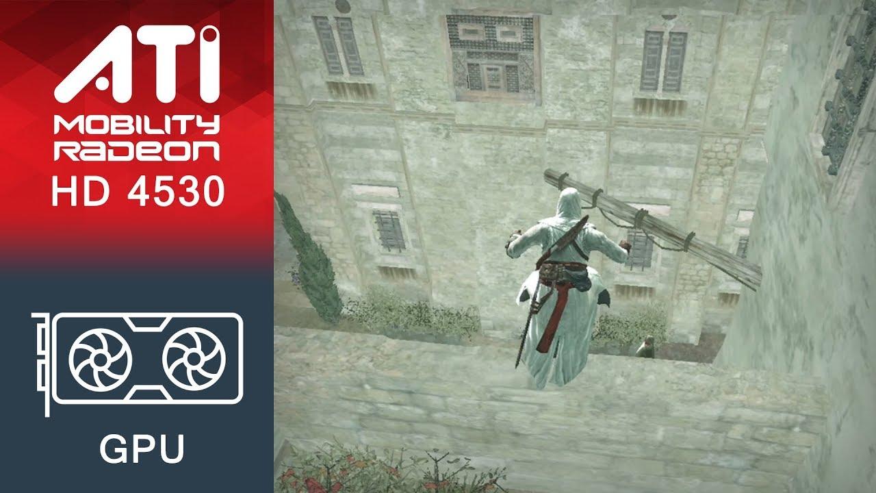 The elder scrolls skyrim gameplay ati mobility radeon hd 4530.