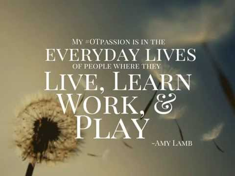 What's Your #OTPassion?
