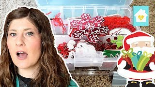 GIFT WRAPPING ORGANIZATION | ORGANIZE WITH US | WRAPPING SUPPLIES STORAGE