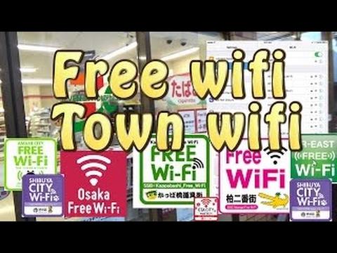 TOKYO.【新宿Free-wifi】.Town wifi No.2( walking to Citadines Shinjuku)