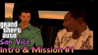 GTA San Vice - Intro & Mission #1 Rollin Rockets