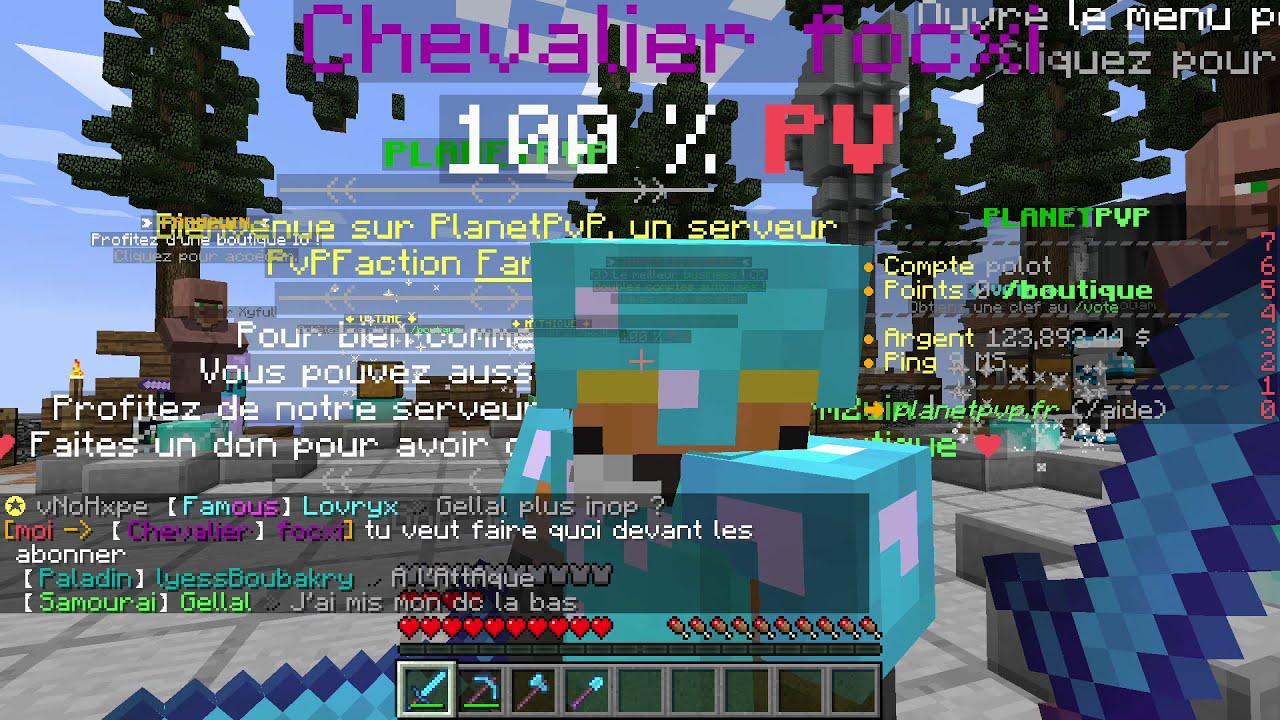 Minecraft planet PVP #2 - YouTube