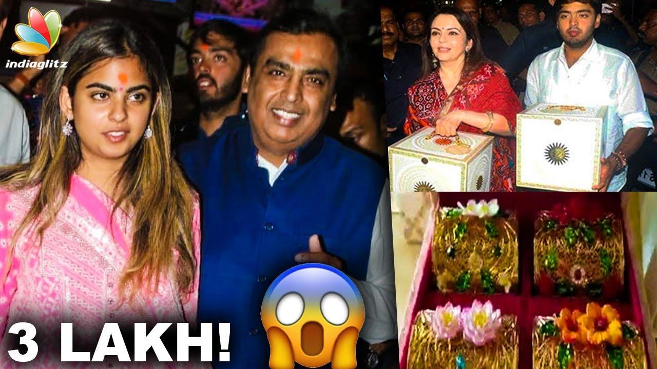 3 Lakh Worth Wedding Invitation For Mukesh Ambanis Daughter Isha Anand Piramal