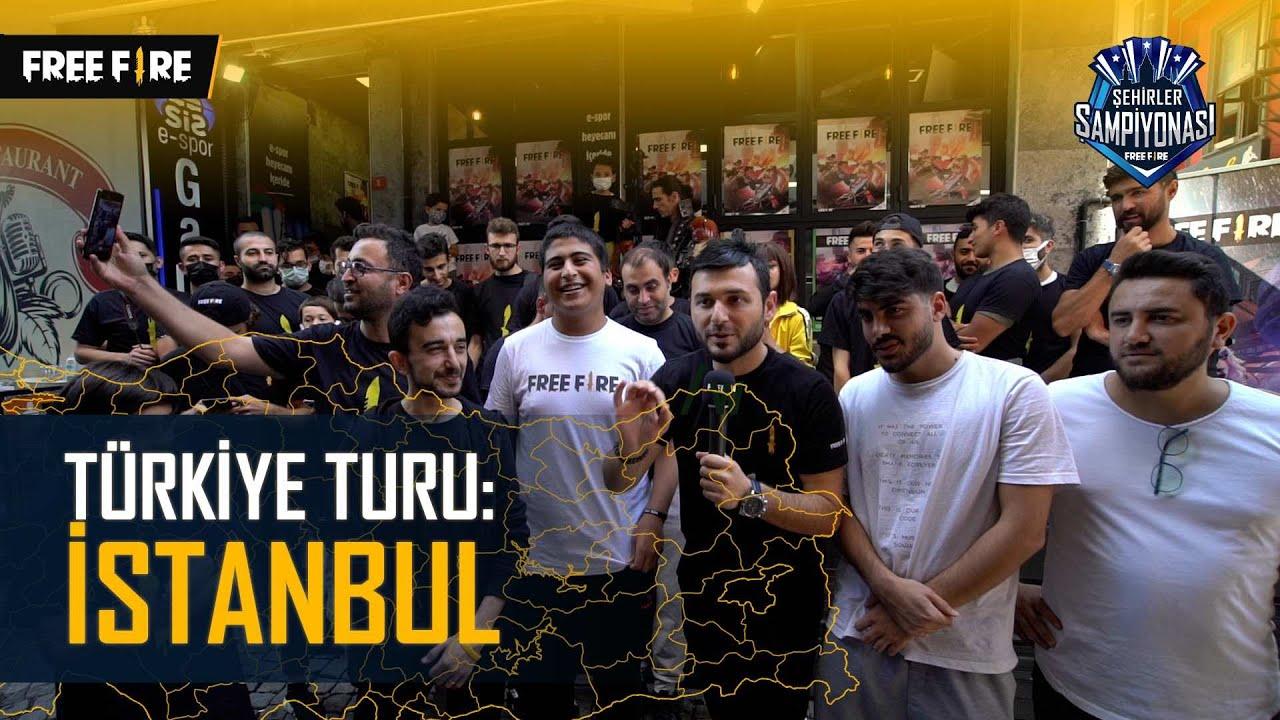 Free Fire Türkiye Turu: İSTANBUL