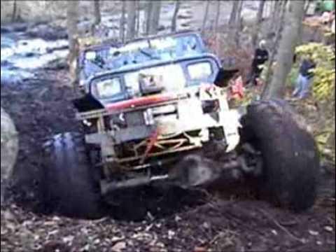 Tardif Hill fest 2006 Extrem off road Toyota Supra jeep ...