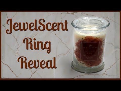 JewelScent Ring Reveal - Ginger Snap Candle!