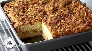 Sour Cream Pecan Coffee Cake  Oh Yum With Anna Olson