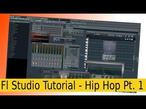 (Fl Studio) Fruity Loops Hip Hop Beat (by Aries 4Rce BeatZ)- GERMAN- [TUTORIAL] Part 1/2 deutsch