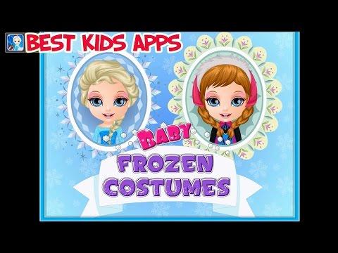 Baby Frozen Costumes Холодное сердце примеряем костюмы для ребенка Геймплей игры на Андройд