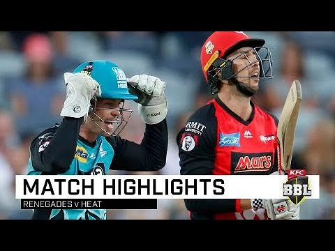 Heat cruise past Renegades in Geelong | KFC BBL|08