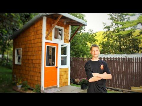 13-летний мальчик построил собственный дом за 1500 долларов