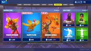 *NEW* TENDER DEFENDER SKIN! (Fortnite Item Shop 22nd November)