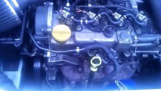 Trouver le claquement d'un moteur Diesel common rail .