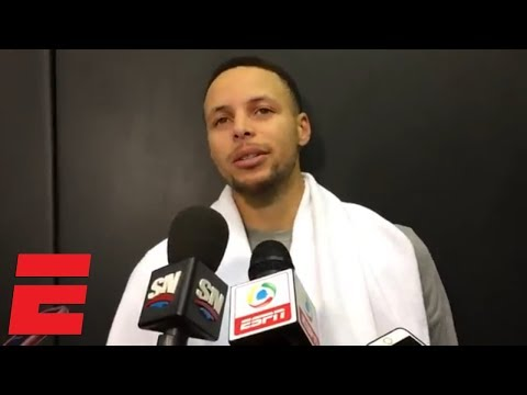 Steph Curry 'itching' to get back as Warriors head to Toronto | NBA Sound