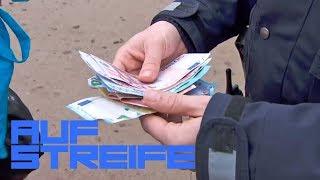 Falschgeld Rückgabe: 4000€ an die Polizei im Park? | Auf Streife | SAT.1 TV