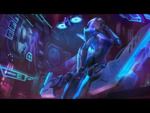 PROJECT ASHE Login Screen Animation Theme Intro Music Song【1 HOUR】