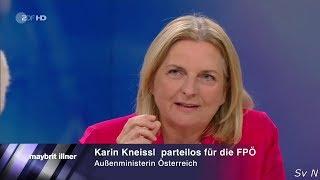 """""""Ich habe die Befürchtung, dass sich 2015 wiederholen wird."""" Kneissl 21.06.2018 - Bananenrepublik"""