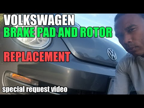 Volkswagen Beetle Brake Pads and Rotors DIY Replacement | iRepair Autos
