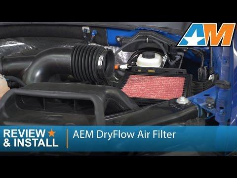 2009-2016 F-150 AEM DryFlow Air Filter Review & Install