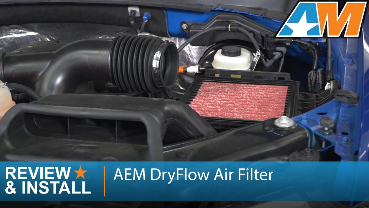 Aem Dryflow Replacement Air Filter 09 19 F 150