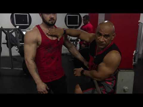 BETO SIERRA Entrenamiento de Pecho con Pedro Barrón (The Pitbull) / MOTIVACIÓN
