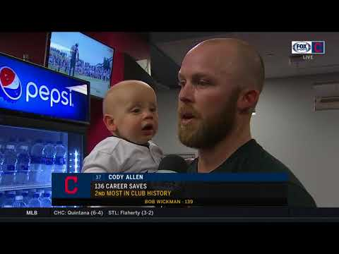 Cody Allen describes an unforgettable first Father's Day