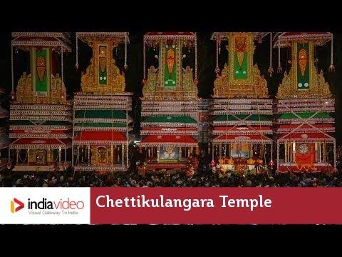 Giant horses roll into Chettikulangara Sree Bhagavathi temple