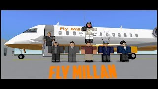 Roblox-Fly Millan CRJ-200 First Flight
