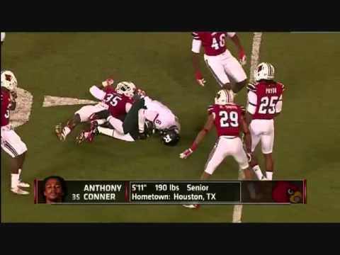 Louisville Football Player Anthony Conner Breaks Neck Making Tackle Vs Rutgers