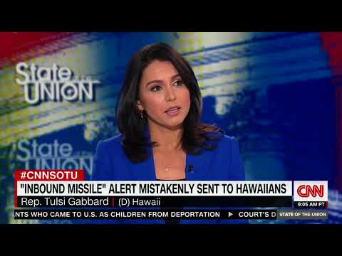Tulsi Gabbard Interview on CNN's State of the Union