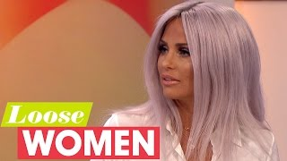katie price regrets some of her cosmetic surgery   loose women