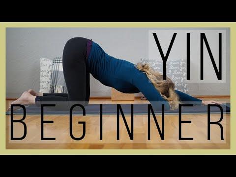 beginner yin yoga 60 min  meridian energy  yoga with dr