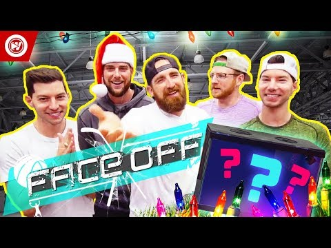 Dude Perfect Face Off | What's In The Box