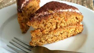 Carrot Honey Wheat Cake