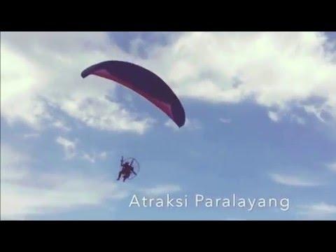 Paralayang Atraction in Tablanusu Beach 2015