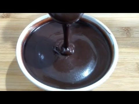 Chocolate Syrup Recipe | Homemade Chocolate Sauce Using Cocoa Powder