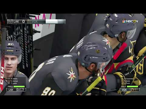 NHL 18 Stanley Cup Playoffs Game 2 Los Angeles Kings vs Vegas Golden Knights 04 13 2018