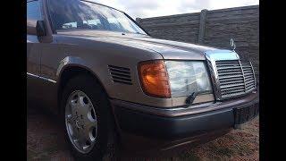 Купили W124 В Германии//Легендарный Мерседес