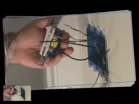 how to install a light switch connecting a light switch to the black wires part 1 youtube. Black Bedroom Furniture Sets. Home Design Ideas