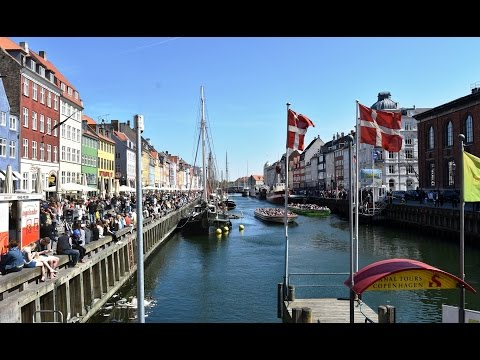 Copenhagen, Denmark - Walking Tour - Spring 2016