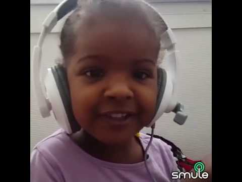 Mon bb 3 ans chante DJANY