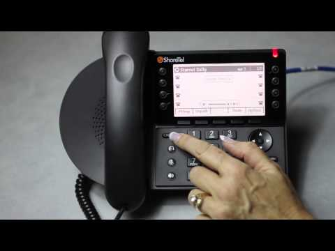 ShoreTel IP 48X (480/480G/485G) Phone Overview - YouTube