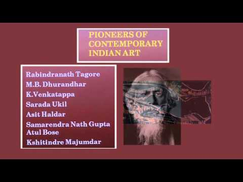 Lesson 8 PART01 PAINTING PIONEERS OF CONTEMPORARY INDIAN ART