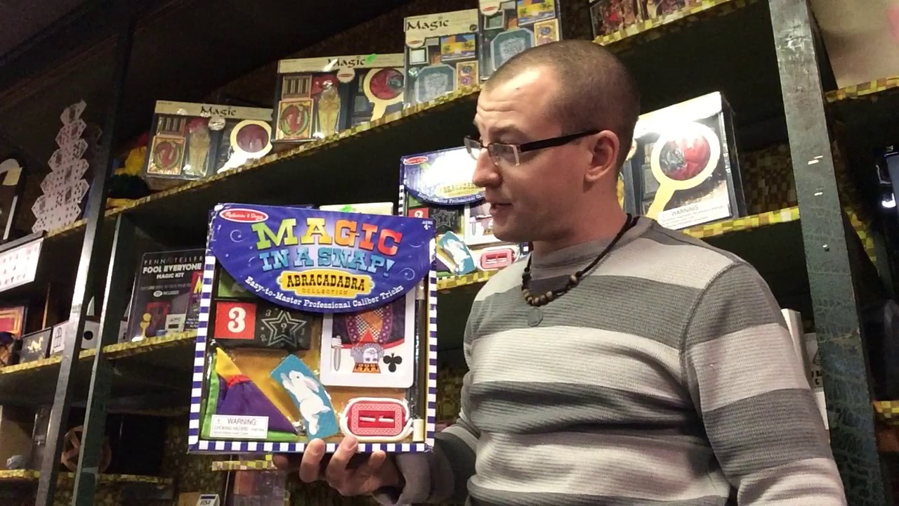 Melissa And Doug Magic In A Snap Kit Youtube