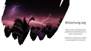 Gdzie jest burza czyli aktualna mapa burzowa Polski i Europy