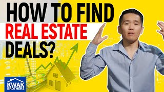 Ep. 12 - How to find real estate deals?