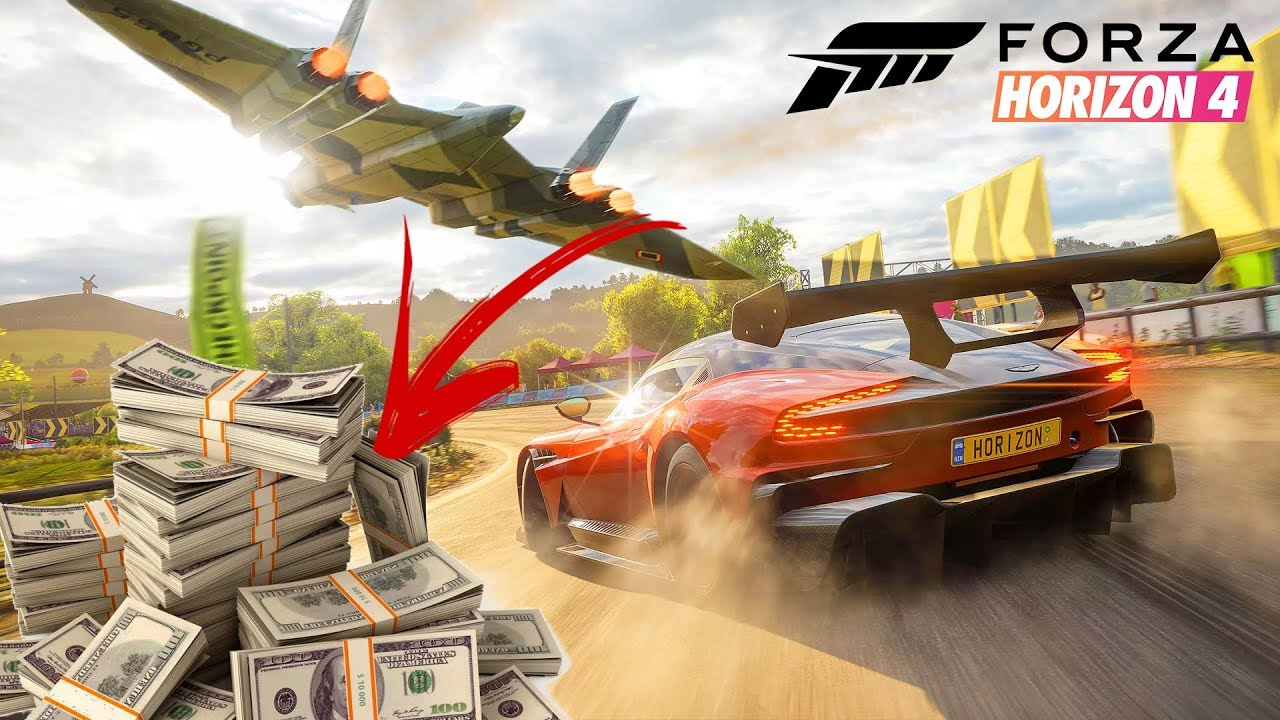 Unlimited Money on Forza Horizon 4 on PC with Cheat Engine | $ 999,999,999