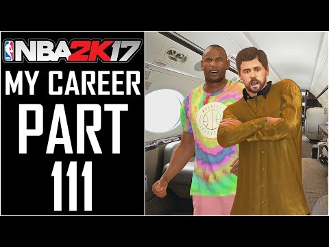 "NBA 2K17 - My Career - Let's Play - Part 111 - ""Swaggin' On The Private Jet"""