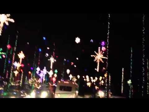 Girvin rd jacksonville fl 2013 Christmas lights - YouTube