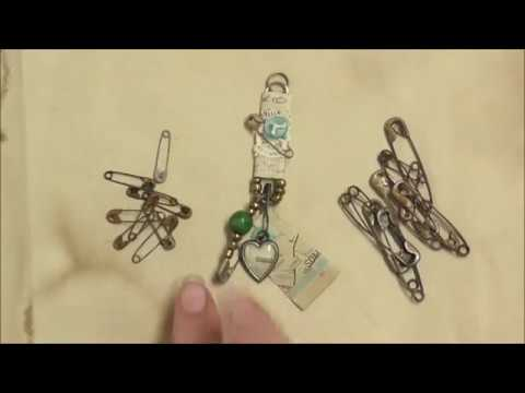 how-to-make-grungy,-rusty-safety-pins-for-mixed-media-projects-and-a-giveaway